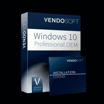 Microsoft Windows 10 Professional OEM neu