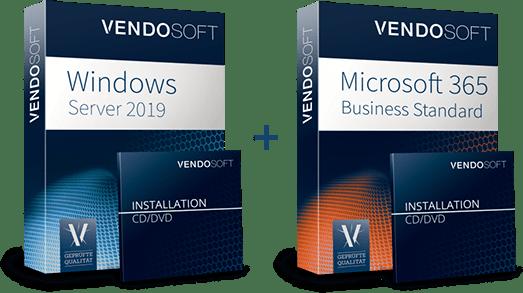 Hybride Cloud Produkte - Windows Server 2019 und MS 365 Business Standard