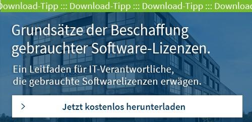 Download Leitfaden gebrauchte Software Lizenzen